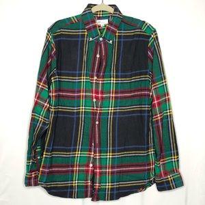 Men's Gap Standard Fit Plaid Flannel Shirt